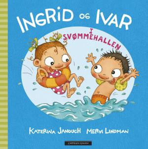 Ingrid og Ivar i svømmehallen