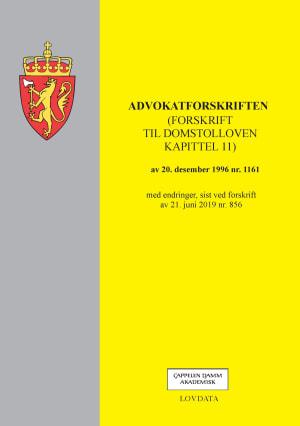 Advokatforskriften