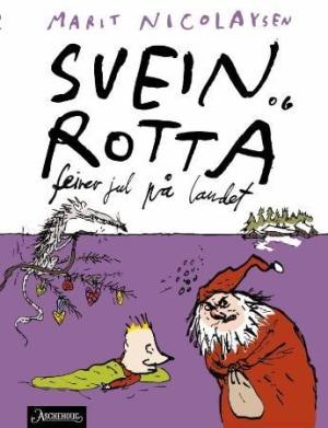 Svein og rotta feirer jul på landet