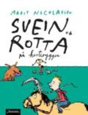 Svein og rotta på hesteryggen
