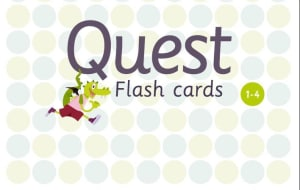 Quest. Flash cards. 1.-4. klasse