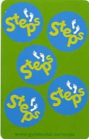 Steps. Språkkort