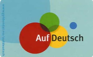 Auf Deutsch. Språkkort