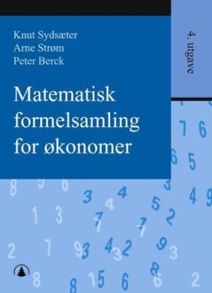 Matematisk formelsamling for økonomer