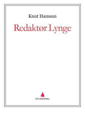 Redaktør Lynge