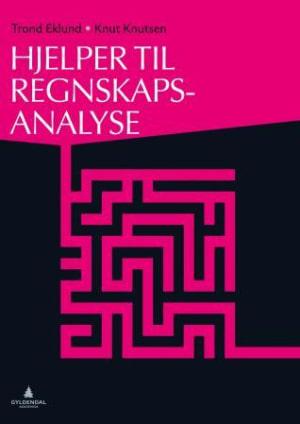 Hjelper til Regnskapsanalyse med årsoppgjør