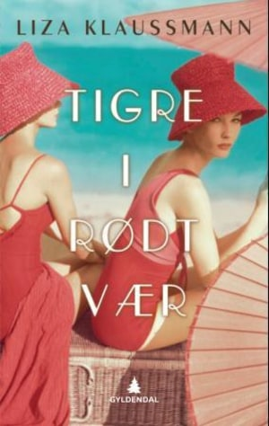 Tigre i rødt vær