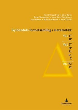 Gyldendals formelsamling i matematikk