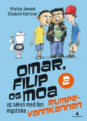 Omar, Filip og Moa og saken med den mystiske rumpevannkannen