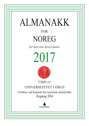 Almanakk for Noreg 2017