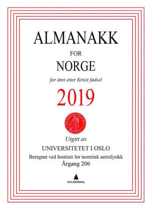 Almanakk for Norge 2019