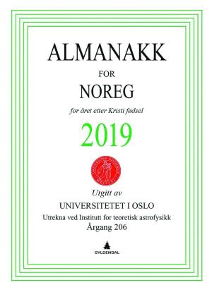 Almanakk for Noreg 2019