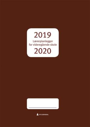 Lærerplanlegger for videregående skole 2019-2020