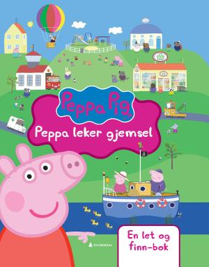 Peppa leker gjemsel
