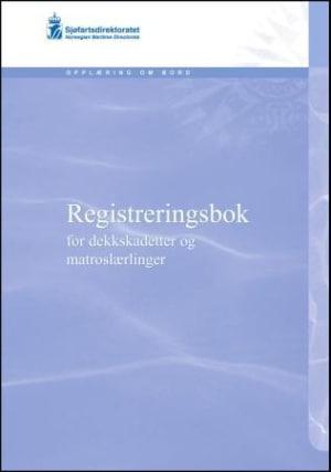 Registreringsbok for dekkskadetter og matroslærlinger