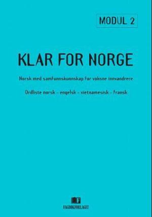 Klar for Norge, Ordliste norsk-engelsk-vietnamesis
