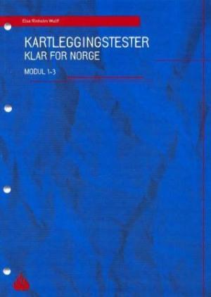 Klar for Norge : kartleggingstester, modul 1-3