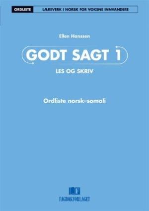 Godt sagt 1, Les og skriv: Ordliste norsk-somali
