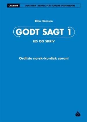 Godt sagt 1, Les og skriv: Ordliste norsk kurdisk