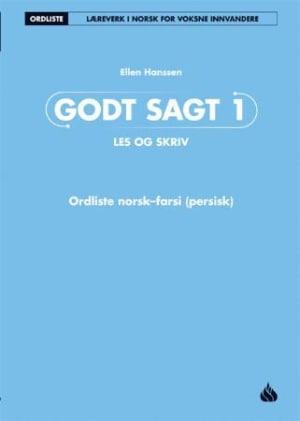 Godt sagt 1, Ordliste norsk-farsi (persisk)