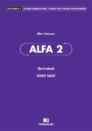Godt sagt Alfa 2, skrivebok
