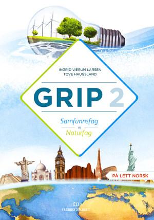 Grip 2 Samfunnsfag og naturfag Grunnbok (BM)