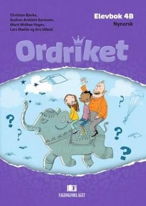 Ordriket Elevbok 4B NYN, d-bok