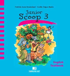 Junior Scoop 3 Textbook (revidert), d-bok