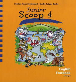 Junior Scoop 4 Textbook, d-bok