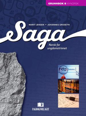 Saga 8 Grunnbok, d-bok