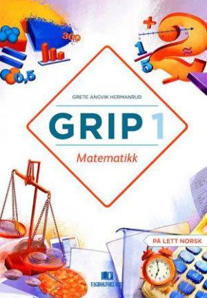 Grip 1 Matematikk Elevbok, d-bok (BM)
