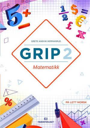 Grip 2 Matematikk Elevbok, d-bok (BM)