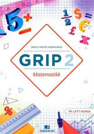 Grip 2 Matematikk Elevbok, d-bok (NYN)