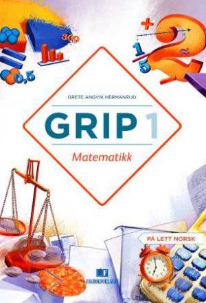 Grip 1 Matematikk Elevbok, d-bok (NYN)