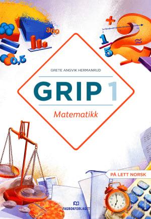 Grip 1 Matematikk Lærarrettleiing NYN  (d-bok)