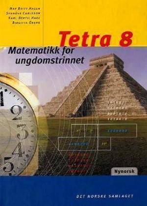 Tetra 8 Grunnbok NYN, d-bok