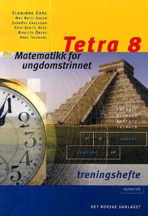 Tetra 8 Treningshefte NYN, d-bok
