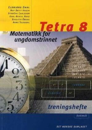 Tetra 8 Treningshefte BM, d-bok