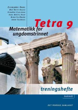 Tetra 9 Treningshefte NYN, d-bok