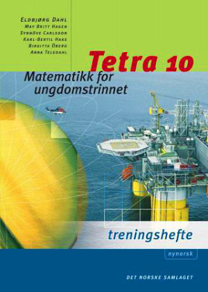 Tetra 10 Treningshefte, d-bok