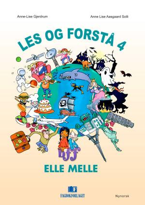 Elle Melle Les og forstå 4, d-bok