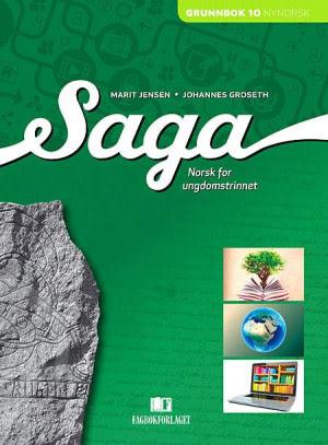 Saga 10 Grunnbok NN, d-bok