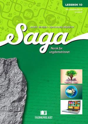 Saga 10 Lesebok (fellesspråklig), d-bok