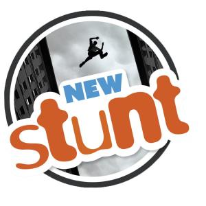 New Stunt d-bok