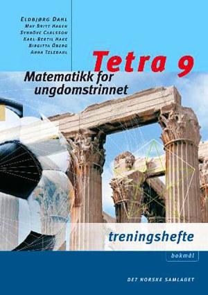 Tetra 9 Treningshefte, interaktiv d-bok