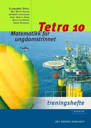 Tetra 10 Treningshefte interaktiv, d-bok