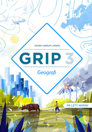 Grip 3 Geografi Grunnbok (NYN)