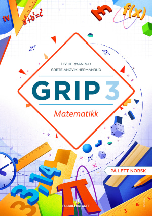 Grip 3 Matematikk Elevbok NYN (d-bok)