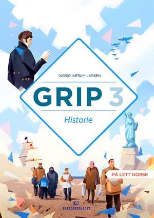 Grip 3 Historie, elevbok, d-bok (NYN)