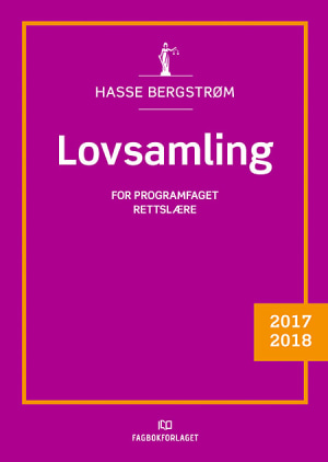 Lovsamling rettslære 2017/2018, d-bok